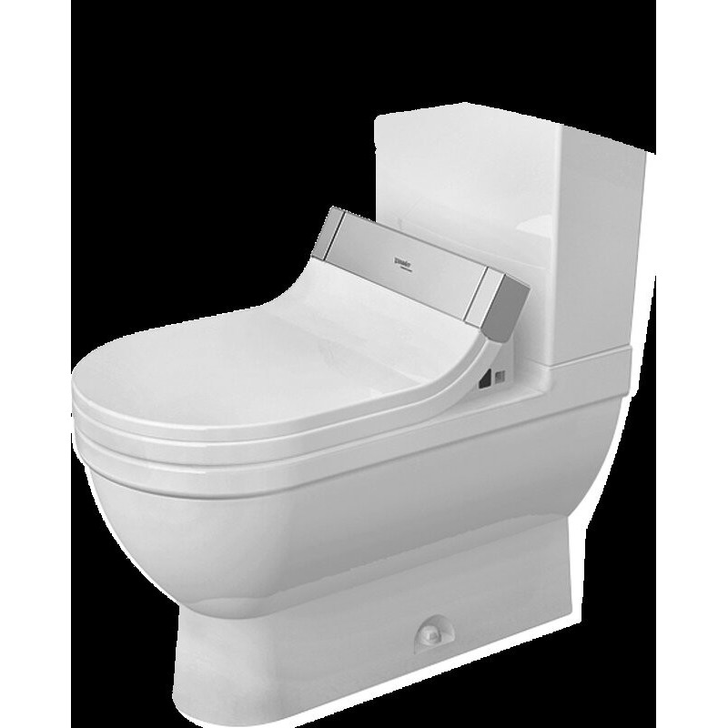 buy duravit 2125510000 bowl only for two piece toilet. Black Bedroom Furniture Sets. Home Design Ideas