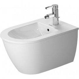 Duravit 22491500001 Bidet wall mounted 54cm Darling New white with of with tp 1 th WGL