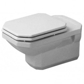 Duravit 0182090092 Bowl only for Toilet wall mounted 1930 white washdown US-version