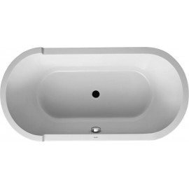 Duravit 700409000000090 Oval bathtub Starck 1600x800mm whit with acrylic panel a.support freest