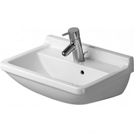 Duravit 0300500030 Washbasin 50 cm Starck 3 with overflow white 3 th