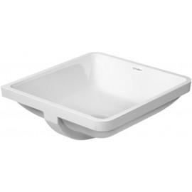 Duravit 0305430000 Vanity basin 43cm Starck 3 white undercounter model wo tap platform