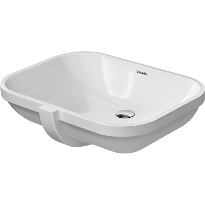 buy duravit 0338560000 undercounter basin 56 cm d code whi. Black Bedroom Furniture Sets. Home Design Ideas