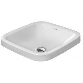 Duravit 0372430000 Vanity basin 43 cm DuraStyle white countertop wo OF wo TP