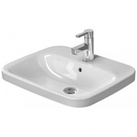 Duravit 0374560000 Vanity Basin 5600 m DuraStyle white countertop w.OF w.TP 1 TH