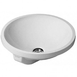 Duravit 0468400000 Vanity basin 40 cm Architec white wo tap-plate with overflow