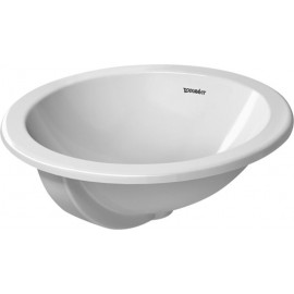 Duravit 0468470000 Vanity basin 47 cm Architec white wo tap-plate with overflow