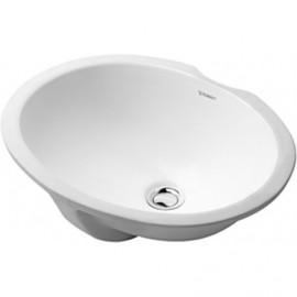 Duravit 0481570000 Vanity basin 57 cm Papatya White