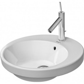 Duravit 2327480000 Vanity basin 480mm Starck 2 white countertop w.OF w.TP 1 TH