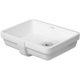 Duravit 03304300001 Vanity basin 43 cm Vero white uc basin with OF wo TP WGL