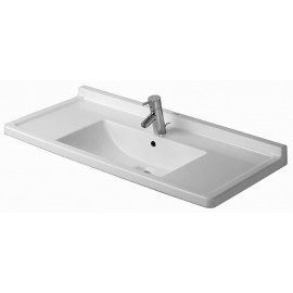 Duravit 0304100030 Furniture washbasin 105 cm Starck 3 white with OF with TP 3 TH