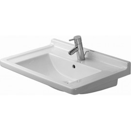 Duravit 0304700030 Furniture washbasin 70 cm Starck 3 white 3 th