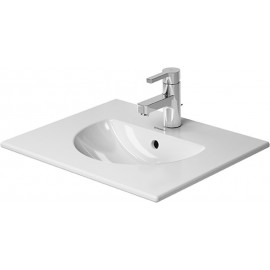 Duravit 0499530000 Furniture washbasin Darling New 53 cm white w.of w.tp 1 th