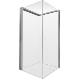 Duravit 770004000110000 Shower screen OpenSpace 885x785mm transparent a.mirror glass for tap