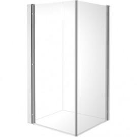 Duravit 770009000110000 Shower screen OpenSpace B 985x985mm transp.a.mirror glass for tap ri.