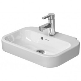 Duravit 0709500000 Handrinse basin 50 cm Happy D.2 white with OF with TP 1 TH