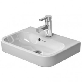 Duravit 0710500000 Furn.handrinse basin 500mm HappyD.2 white with OF with TP 1 TH