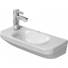 Duravit 0713500009 Handrinse basin 50 cm DuraStyle white w.OF w.TP TH left