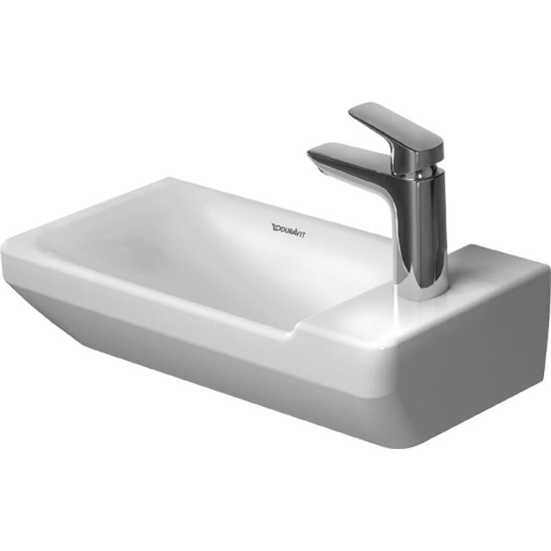 duravit 0715500000 handrinse basin 500mm p3 comforts white wo of w tp w 1 th kolani kitchen bath. Black Bedroom Furniture Sets. Home Design Ideas