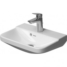 Duravit 0716450060 Handrinse basin 450mm P3 Comforts white with OF with TP wo TH