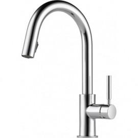 Brizo 63020LF Single Handle Pull-Down Kitchen Faucet