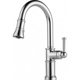 Brizo 63025LF Single Handle Pull-Down Kitchen Faucet