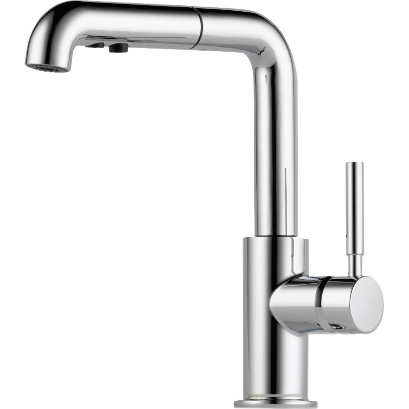 Parts For Single Handle Standard Kitchen Faucet In Polished Chrome