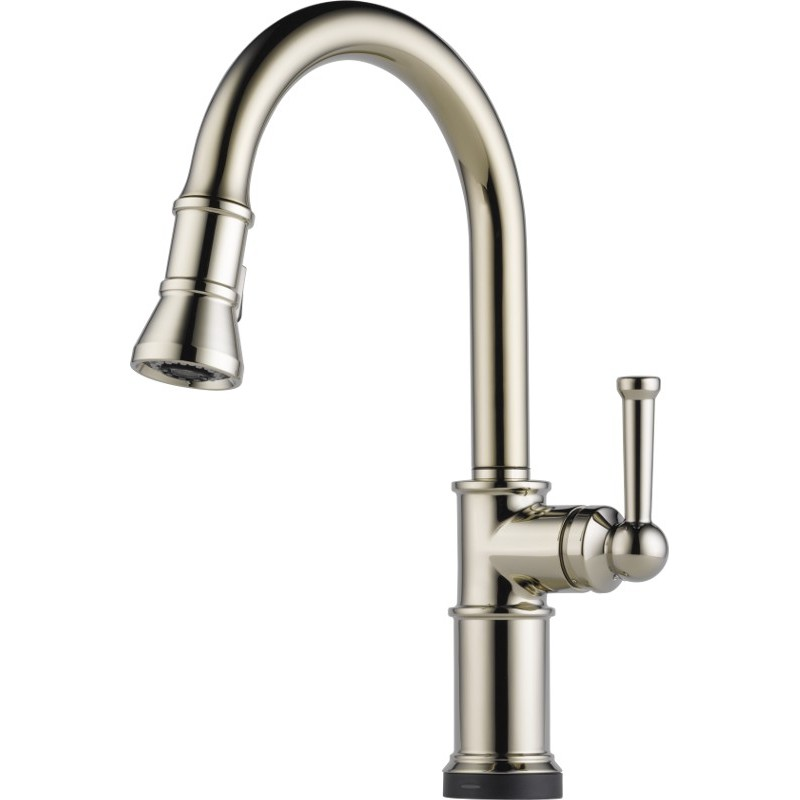 Buy Brizo 64025LF Single Handle Pull-Down Kitchen Faucet with SmartTouchR Technology at Discount ...