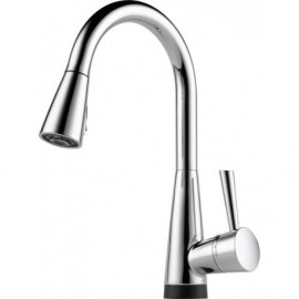Brizo 64070LF Single Handle Pull-Down Kitchen Faucet with SmartTouchR Technology