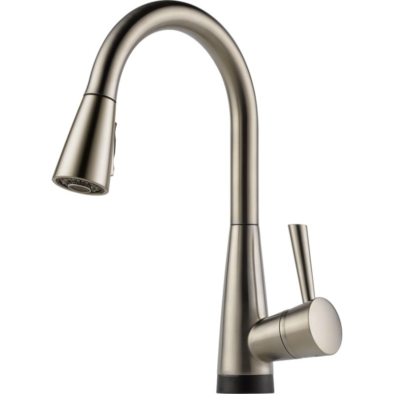 Buy Brizo 64070lf Single Handle Pull Down Kitchen Faucet With Smarttouchr Technology At Discount