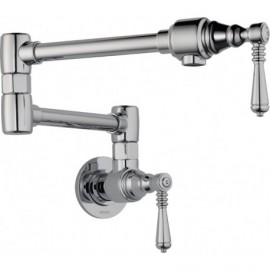 Brizo 62810LF Traditional Pot Filler - Wall Mount