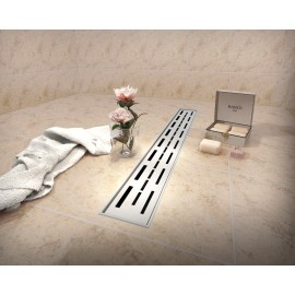Virta Linear Drain Stainless Steel - H