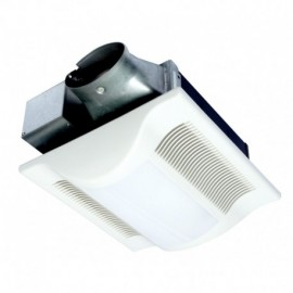 Panasonic FV-10VSL3E 100 CFM: 2 13-Watt CFL 30.2 Watts 3.3 CFMWatt: 1.4 sones - Depth: 3-38 Duct: 4 Oval
