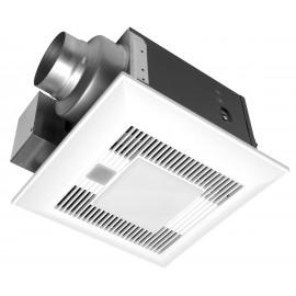 Panasonic FV-05-11VKL1 WhisperGreenSelect Base Fan with LED Light 50-110 CFM 11.1 Watts 9.9 CFMWatt. 0.4 sone
