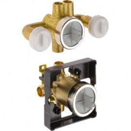 DELTA R18000-XO JETTED XO SHOWER ROUGH IN VALV WITH 6-POSITION DIVERTER