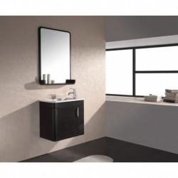 Virta 24 Inch OASIS Solid Wood Wall Mount Vanity with Handle