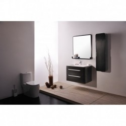Virta 32 Inch OASIS Solid Wood Wall Mount Vanity with Handle