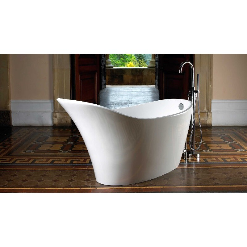 Buy Victoria Albert Amalfi Freestanding Slipper Tub At