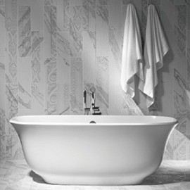 Victoria + Albert Amiata Contemporary Dual Ended Tub