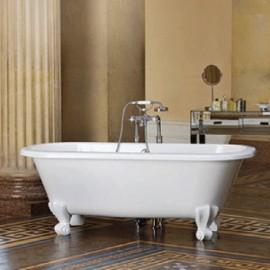 "Victoria + Albert RIC-N Richmond 66"" Double-Ended Freestanding Bathtub"
