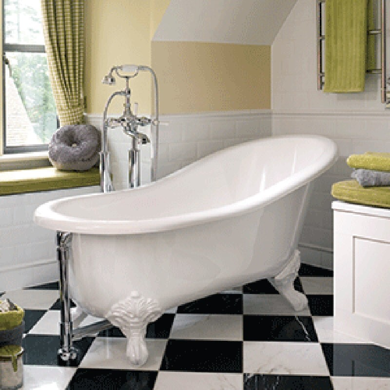 Buy victoria albert shropshire slipper tub and ball and for Victoria albert clawfoot tub