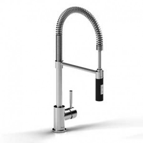 Buy Riobel Bi201ssbk Bistro Tall Kitchen Faucet With Spray At