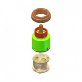 how to change riobel cartridge