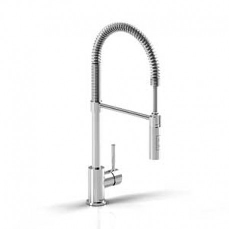 Buy Riobel Bi201 Bistro Tall Kitchen Faucet With Spray At Discount