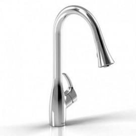 Riobel FO101 Flo kitchen faucet with spray