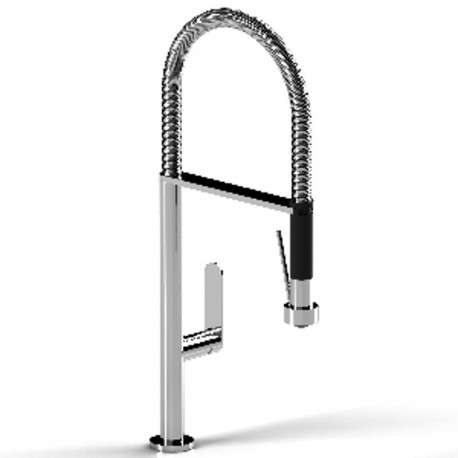Buy Riobel PE101 Perla kitchen faucet with spray at Discount Price ...