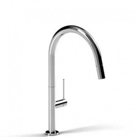 Buy Riobel Ve101 Vento Kitchen Faucet With Spray At Discount Price At Kolani Kitchen Bath In Toronto Kitchen Faucets Pull