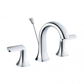 Lluvia Orchid 8 Inch Bathroom Lavatory Faucet - ORCHID