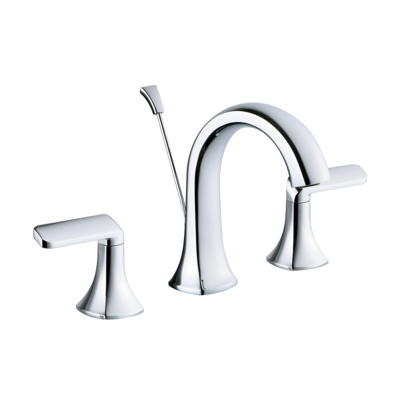 Buy lluvia orchid 8 inch bathroom lavatory faucet orchid for Bathroom 8 inch faucets