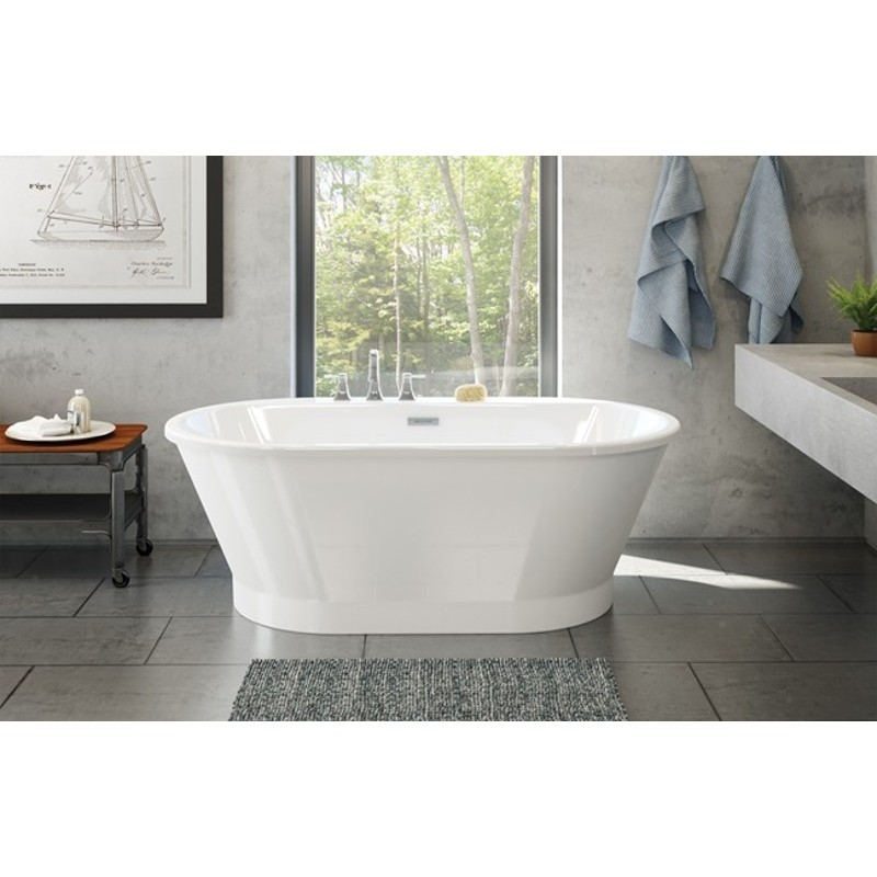 Buy maax brioso 6636 bathtub 103903 at discount price at for Cheap free standing tubs